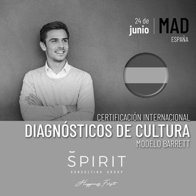 Certificación en Diagnósticos de Cultura con el Modelo Barrett impartido por SPIRIT Consulting Group en España
