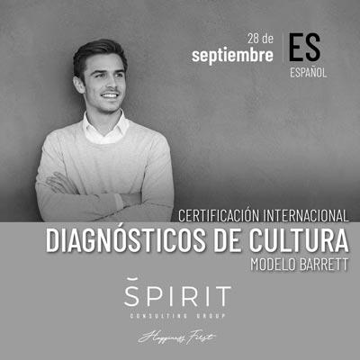 Certificación Diagnósticos de Cultura Modelo Barrett